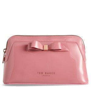 New Ted Baker London Pink Cahira Cosmetics Case